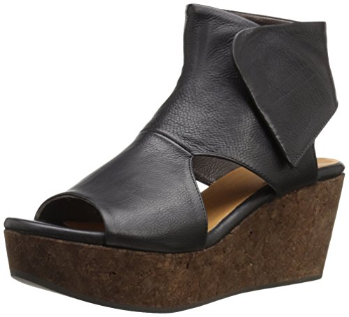 Coclico Mujeres Mind Wedge Sandal Black