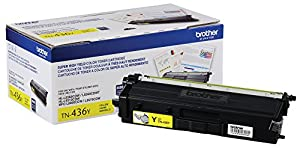 Brother Printer TN436Y Super High Yield Toner-Retail Packaging , Yellow
