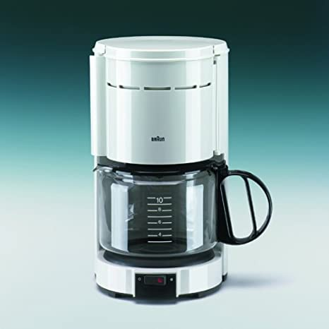 Braun KF 43 Aroma ster Cafetera Color Blanco: Amazon.es: Hogar