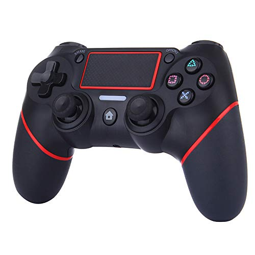 (PS4 Controller Wireless Bluetooth Game Controller Dualshock Gamepad for Playstation 4 Touch Panel Joypad with Dual Vibration, Instantly Timely Manner to Share Joystick)