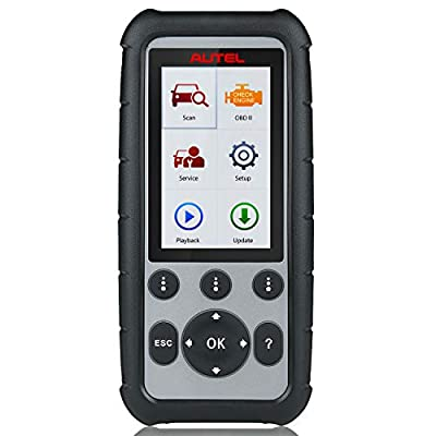 Autel MaxiDiag MD806 (Combination of MaxiCheck Pro and MD802,The Same as MD808) Automotive Diagnostic Scan Tool for Engine, Transmission, SRS and ABS Systems Work with EPB, Oil Reset, DPF, SAS and BMS: Automotive
