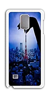 Plastic Phone Case Back Cover note 4 - European and American elements of the Eiffel Tower