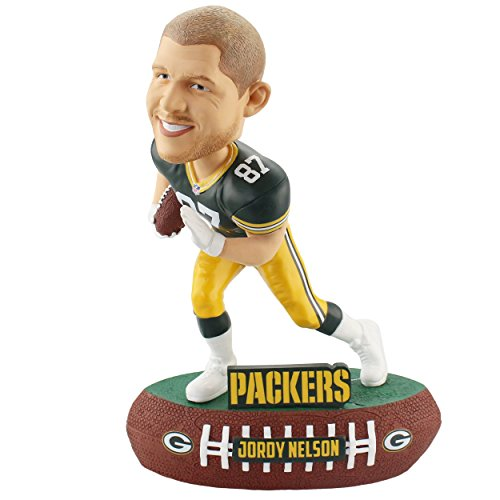 Forever Collectibles Jordy Nelson Green Bay Packers Baller Special Edition Bobblehead ()