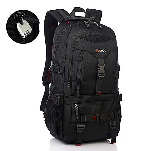 KAKA Travel Laptop Backpack,17-Inch Computer Waterproof Daypack