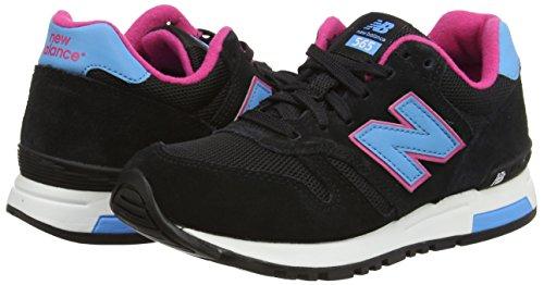 Balance New Donna Nbwl565sgp Black Sneaker 0nqSW1