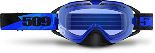 509 Revolver Anti-Fog Snowmobile Goggles (Blue Triangle) by 509