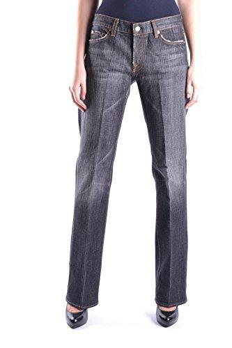 7 For All Mankind Damen MCBI004004O Grau Baumwolle Jeans