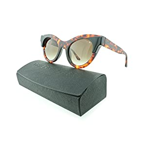 Thierry Lasry Nymphomany Cat-eye Sunglasses Composite Frames (Tortoise Shell, Gradient Grey)