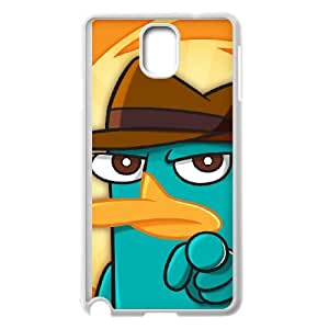 Samsung Galaxy Note 3 Cell Phone Case White Phineas & Ferb Across the 2nd Dimension 014 KYS1150442KSL