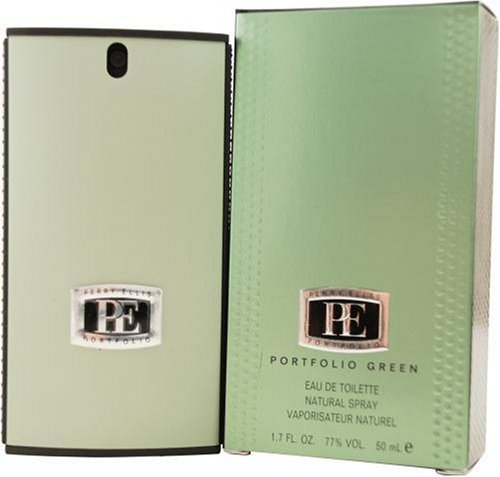 Spray 1.7 Ounce Portfolio (Portfolio Green By Perry Ellis For Men, Eau De Toilette Spray, 1.7-Ounce Bottle)