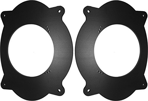 Toyota 2002-2011 Camry & 2005-2015 Tacoma Front Door Speaker Adapter Spacer Rings - SAK010_5525-1 Pair (Front Door Speaker Adapter)