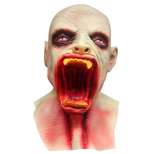 BESTOYARD Halloween Masks Scary Latex Mask Zombie Cosplay