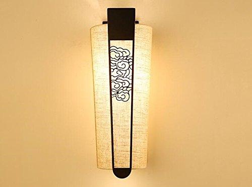 nelle promozioni dello stadio Retrò vita lampada lampada lampada in camera da letto panno al posto letto lampada da parete ferro arte semplice hotel ingegneria lampade e lanterne,B  forma unica