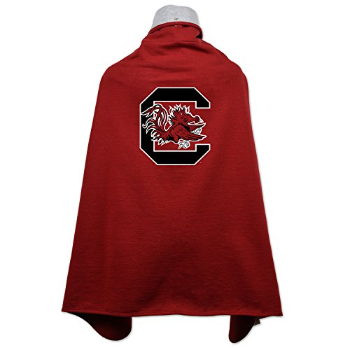 NCAA South Carolina Fighting Gamecocks Children Unisex Cape Drape, One Size, Cardinal