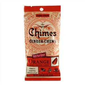 Chimes Ginger Chews - Orange Flavour 42.5g (Case of 12)
