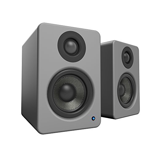 "Kanto YU2 3"" 2-Way Powered Desktop Speakers (Pair) Matte Gray YU2MG"