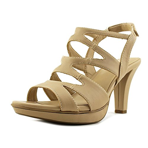 Naturalizer - Sandalias de vestir para mujer Smooth Taupe