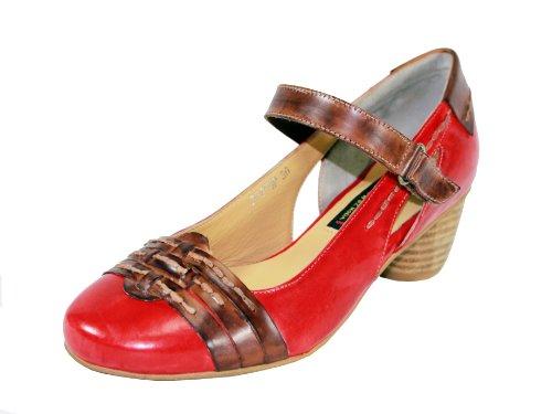 Everybody Womens Landino Mary Jane Pump Red