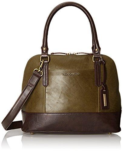 tignanello-vintage-leather-accordian-satchel-shoulder-bag-hunter-one-size