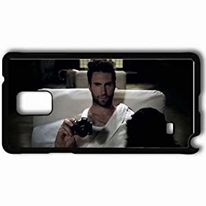 Personalized Samsung Note 4 Cell phone Case/Cover Skin Adam Levine Pictures Celebrities Black