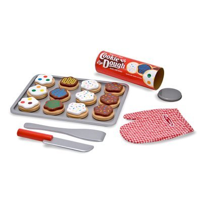 Melissa & Doug Slice and Bake Cookie Set Y1: Toys & Games