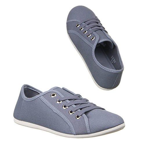 Ital-Design - zapatilla baja Mujer Gris - gris