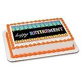 Happy Retirement - Edible Cake Topper