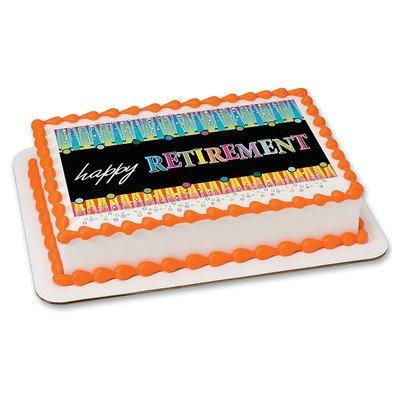 Happy Retirement - Edible Cake Topper by Art of Eric Gunty
