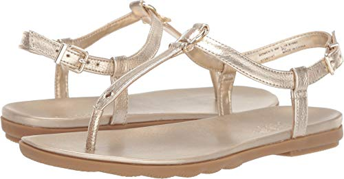 SPERRY Women's Saltwater Sandal Buckle Platinum 8.5 M US