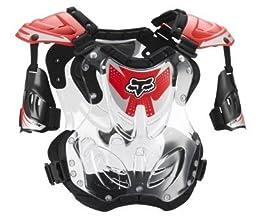 Fox Racing Mens R3 Roost Deflector Red Large L FOX 06091-003-L