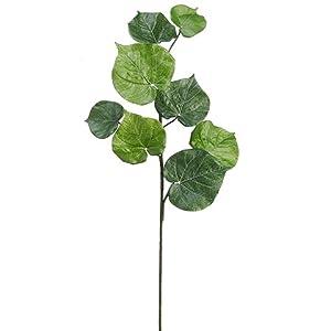 "36"" Begonia Leaf Spray Green (pack of 4) 120"