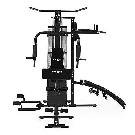 Klarfit Ultimate Gym 5000 - Multiestación musculación, Jaula ...