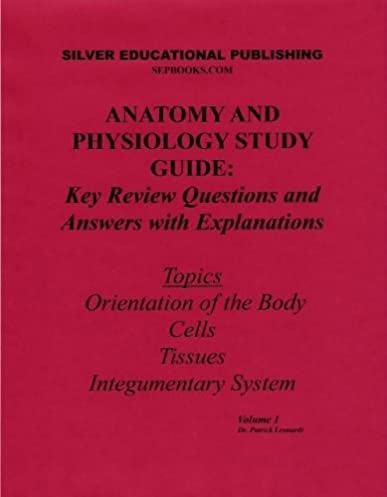 amazon com anatomy and physiology study guide key review questions rh amazon com