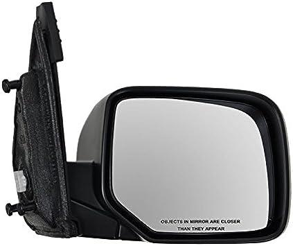 Power Heated Smooth Black Mirror Passenger Side Right RH for 09-13 Honda Pilot