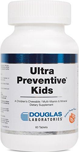 Douglas Laboratories® - Ultra Preventive Kids - Chewable Multivitamin / Mineral / Trace Element Supplement for Children 4+ - Orange Flavor - 60 - 60 Manganese Tabs