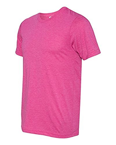 Bella Herren Asymmetrischer T-Shirt Gr. X-Small, Rot - BERRY TRIBLEND