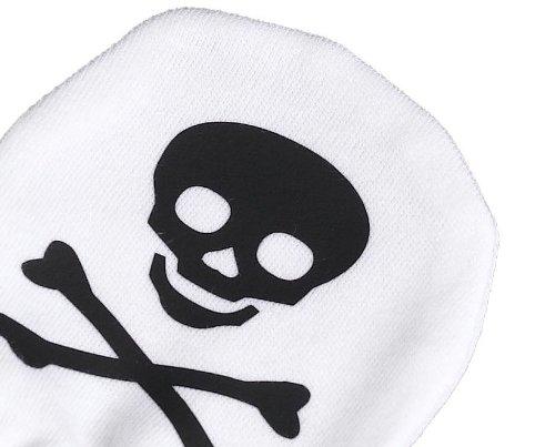 Skulls Design 100/% Baumwolle Kratzhandschuhe F/äustlinge Handschuhe Spoilt Rotten