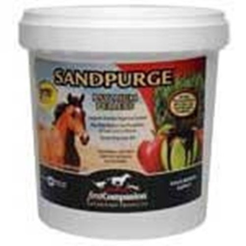 Sandpurge Psyllium Pellets Apple Molasses Sand Colic Horse Equine 20 Pounds by Sandpurge by SandPurge