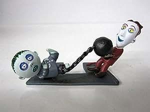 Nightmare Before Christmas Disney Figure-Lock & Barrel Ball & Chain