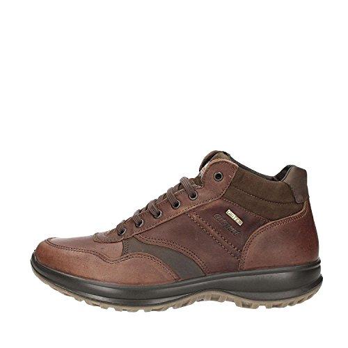 Grisport - Zapatillas de Piel para hombre marrón WOOD OLIATO/MARRONE
