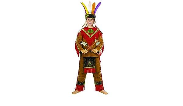 Stamco Disfraz Indio Piel Roja (8 - De 6 a 8 años): Amazon.es ...