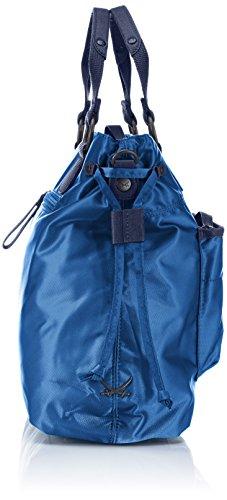 Sansibar Solano B-631 SN 82 Damen Henkeltaschen 39x27x15 cm (B x H x T) Blau (Jeans) e09r9uW