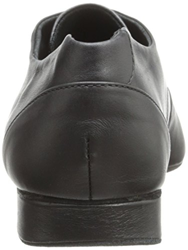 Capezio Mens 1 Tum Tony Slät Oxford Svart