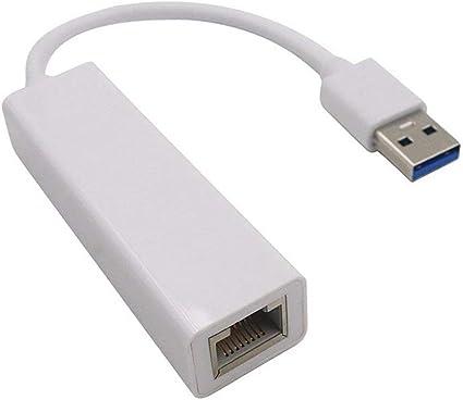 Ogquaton - Adaptador Ethernet USB 3.0 a RJ45 Plug LAN para ...