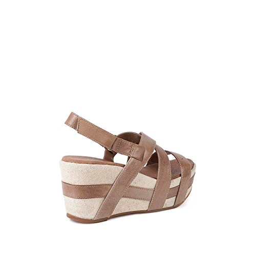 Antelope Womens 819 Leather Crossed Classics Sandals Taupe AxtbnCPpv