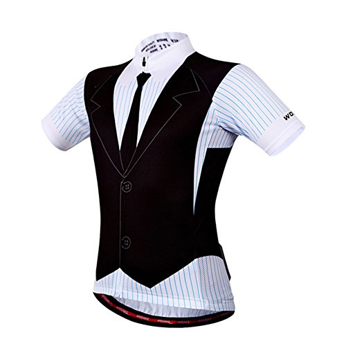 RaiFu サイクリングシャツ メンズ 半袖 通気性 汗吸収 トップス ギフト L