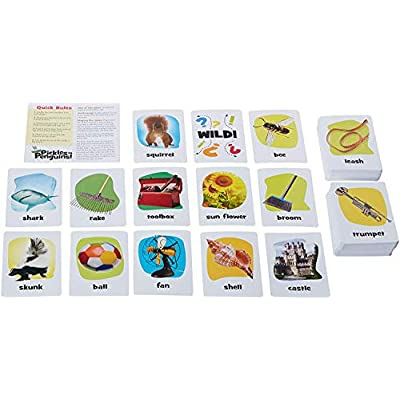 Outset Media - Pickles To Penguins Travel Edition - the Quick Thinking Card Game: Toys & Games