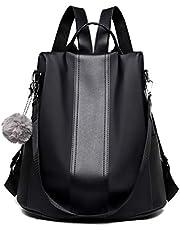 Tisdaini Donna Borse a zainetto nylon moda casual impermeabile da tracolla borsa viaggio