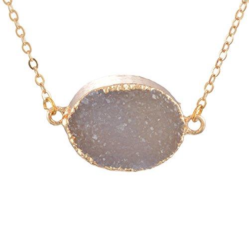 MJARTORIA Natural Pendant Healing Necklace