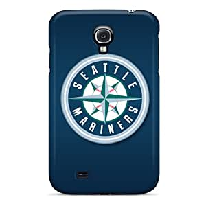 EricHowe Samsung Galaxy S4 Shock Absorbent Hard Phone Covers Custom Colorful Seattle Mariners Image [nsz9808jWGH]